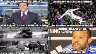 La jornada de este domingo dejó dos noticias destacadas en el panorama futbolístico: la dimisión de Nuno Espírito Santo como entrenador del Valencia y la...