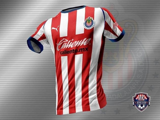Se filtraron las nuevas jerseys de Chivas 1