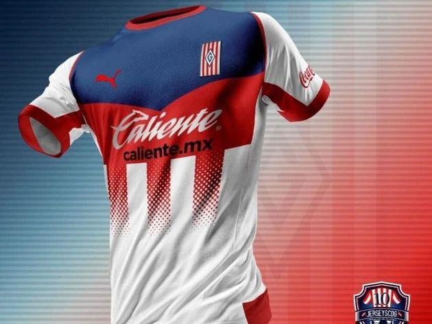 Se filtraron las nuevas jerseys de Chivas 3