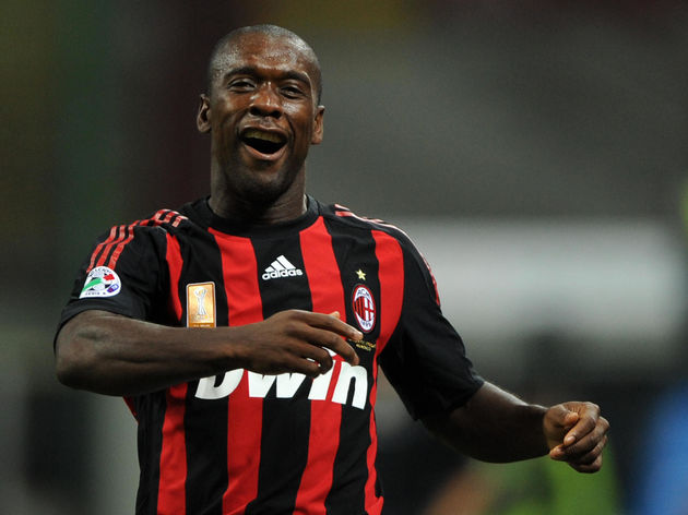 AC MIlan's forward Clarence Seedorf of N