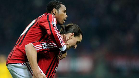 Robinho,Zlatan Ibrahimovic