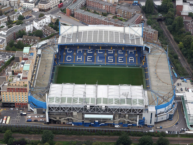 Aerial Views Of London Football Stadiums