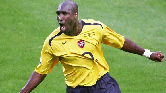 Arsenal's English defender Sol Campbell
