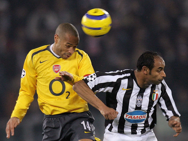 Arsenal's forward Thierry Henry of Franc