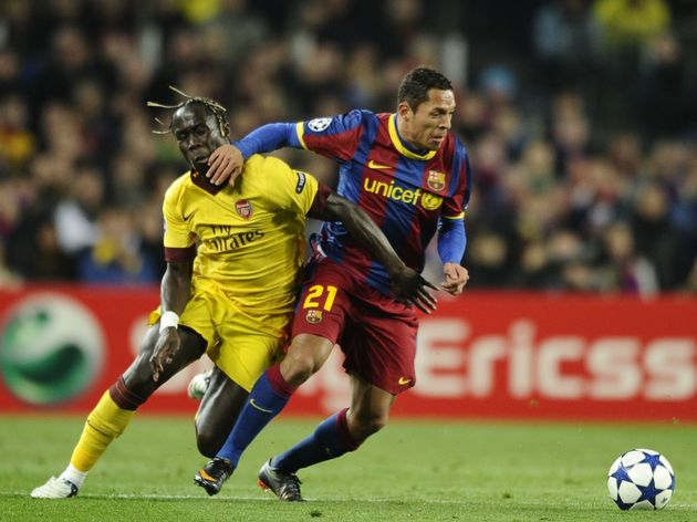 Arsenal's French defender Bacary Sagna (