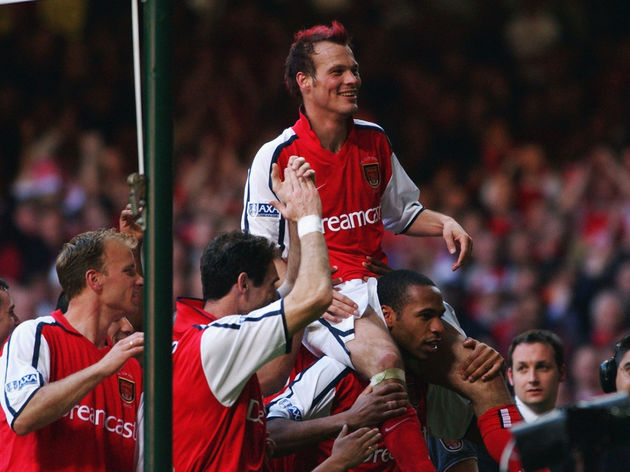 Arsenal's hero Fredrik Ljungberg