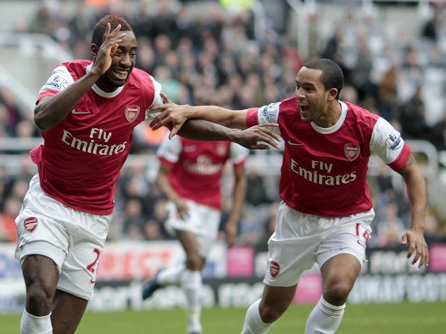 Arsenal's Ivorian-Swiss defender Johan D