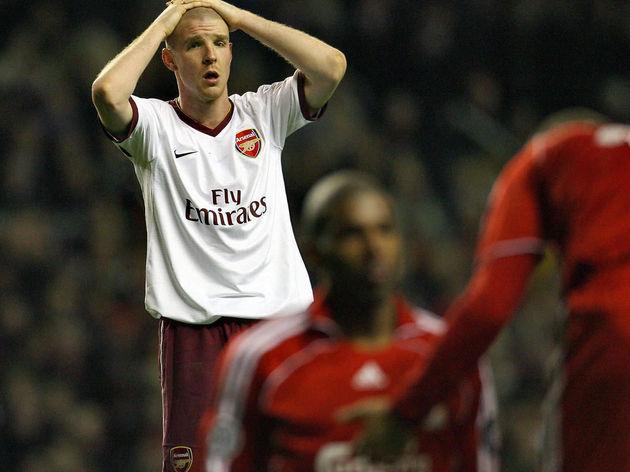 Arsenal's Swiss defender Philippe Sender