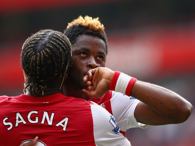 Alex Song,Bacary Sagna