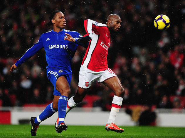 William Gallas,Didier Drogba