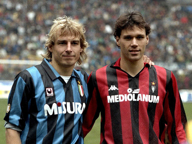 Jürgen Klinsmann,Marco Van Basten