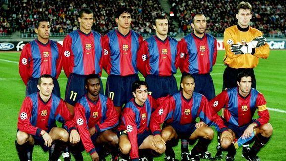 Barcelona team group