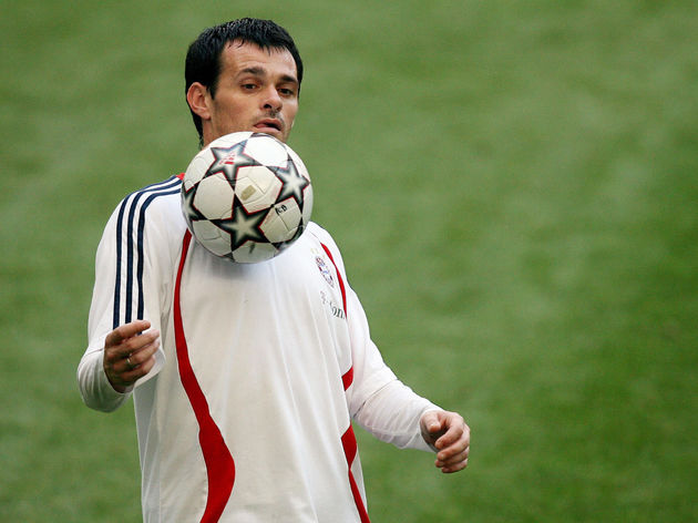 Bayern Munich's France defender Willy Sa