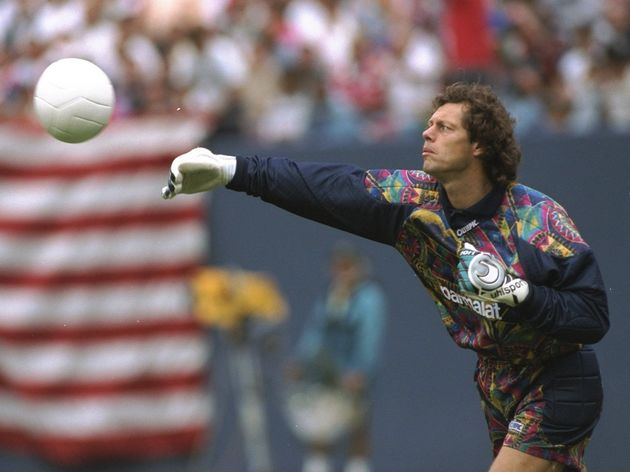 Benfica goalkeeper Michel Preud''Homme