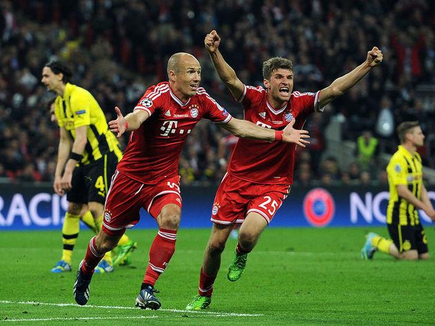 Arjen Robben,Thomas Muller