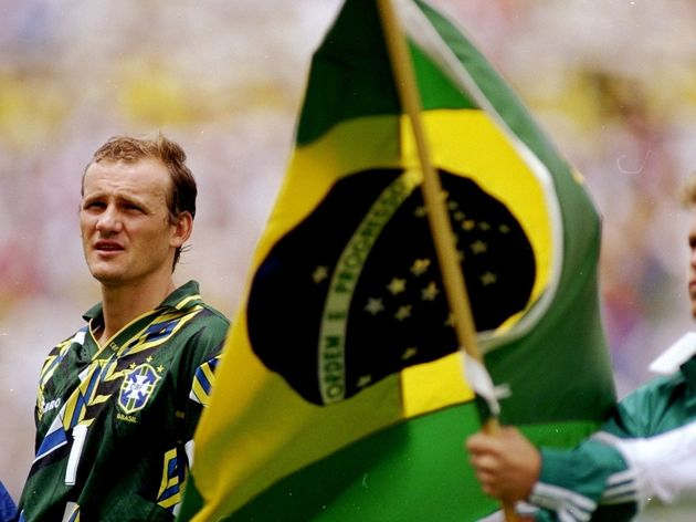 Brazil goalkeeper Claudio Taffarel