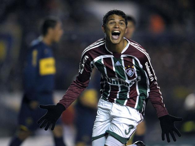 Brazil's Fluminense defender Thiago Silv