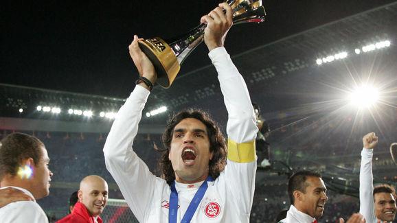 Brazil's SC Internacional captain Fernan