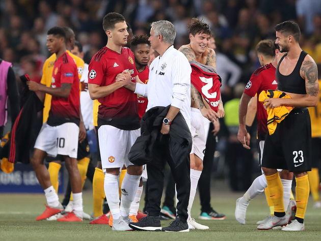 Diogo Dalot,Jose Mourinho