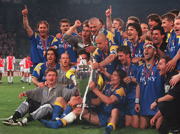 CHAMPIONS LEAGUE 1995/96
