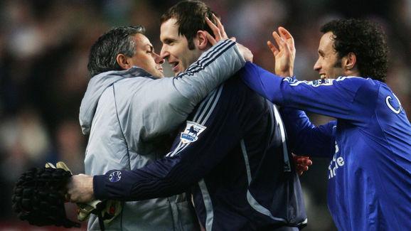 Jose Mourinho,Petr Cech