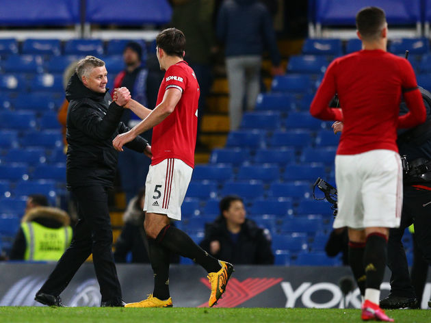 Ole Gunnar Solskjaer,Harry Maguire