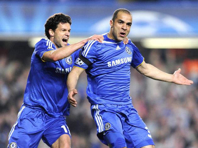 Chelsea's German player Michael Ballack