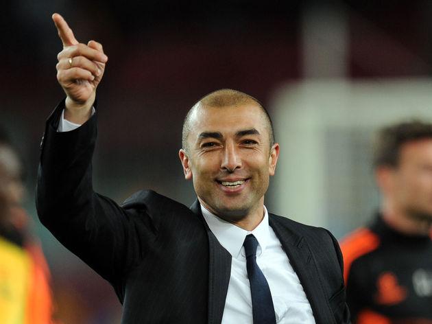 Chelsea's Italian coach Roberto Di Matte