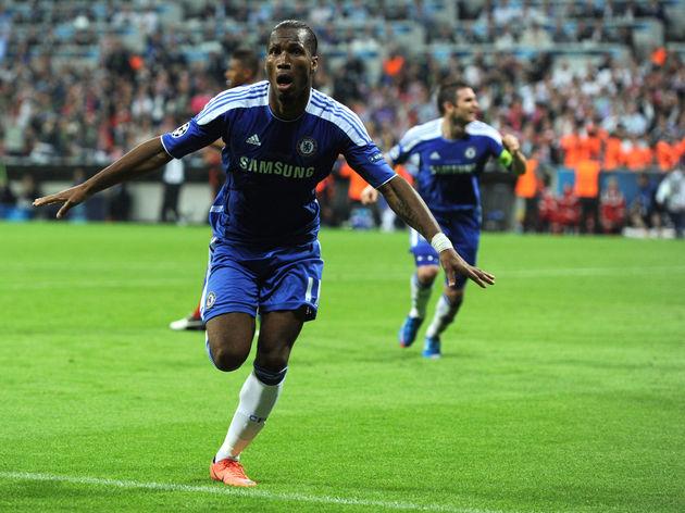 Pemain depan Chelsea asal Chelsea, Didier Drogba