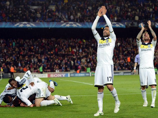 Chelsea's Portuguese defender Jose Bosin