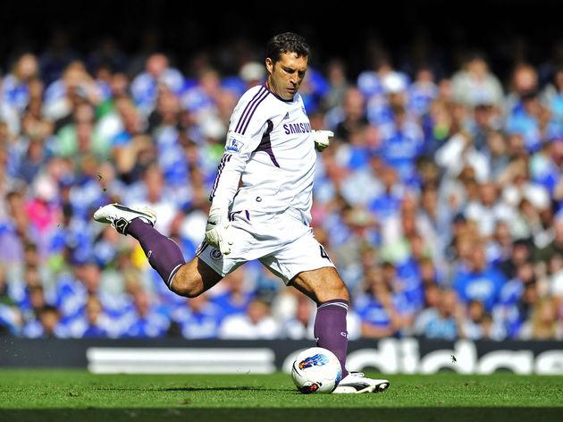 Chelsea's Portuguese goalkeeper Henrique