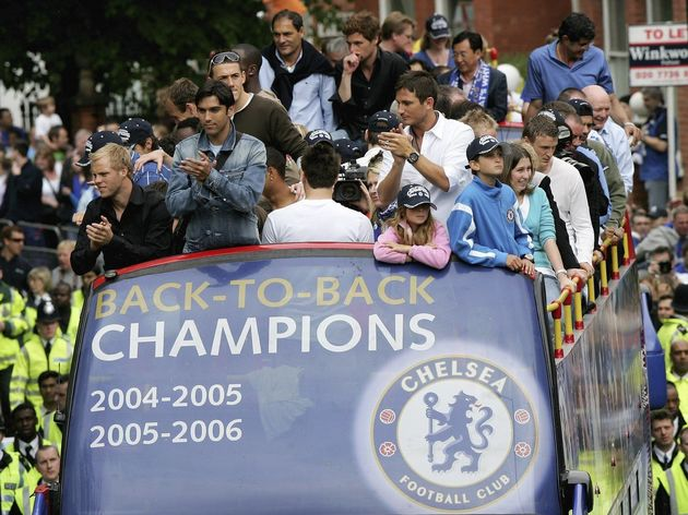 Chelsea Trophy Parade