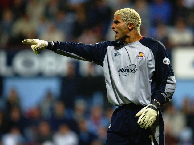 David James of West Ham United