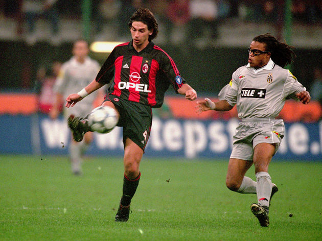 Demetrio Albertini and Edgar Davids