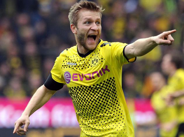 Dortmund's Polish midfielder Jakub Blasz