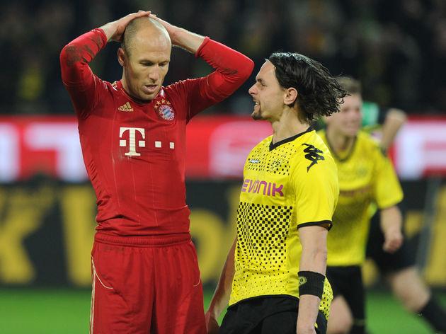 Dortmund's Serbian defender Neven Suboti