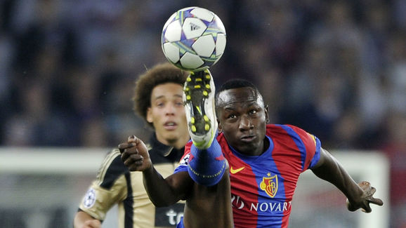 FC Basel's Cameroonian forward Jacques Z
