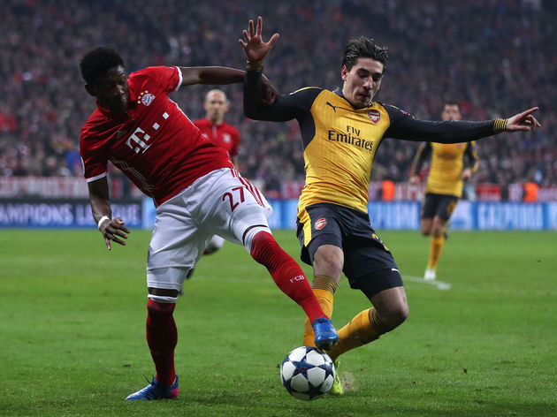 Hector Bellerin,David Alaba