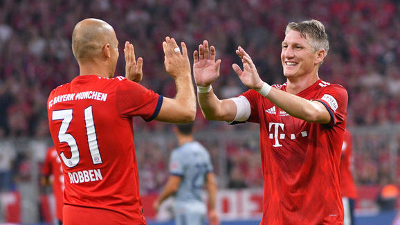 Arjen Robben,Bastian Schweinsteiger