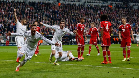 Pepe,Toni Kroos,Gareth Bale,Sergio Ramos,Bastian Schweinsteiger,Jerome Boateng,Dante