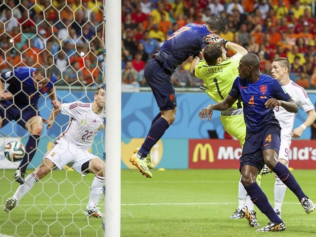 "FIFA World Cup 2014 Brazil - ""Spain v Netherlands"""
