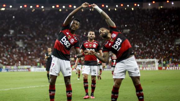 Gabriel Barbosa,Bruno Henrique