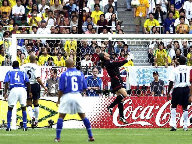 Foot : 1/4 Final England - Brazil / Wc 2002