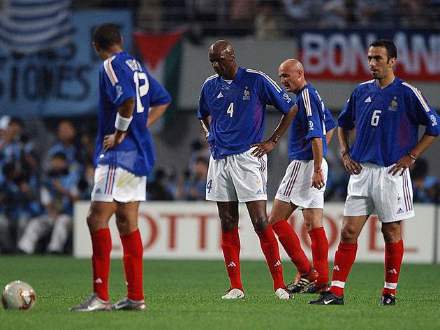 Youri Djorkaeff,Patrick Vieira,Thierry Henry,Frank Leboeuf
