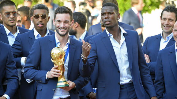 Hugo Lloris,Paul Pogba