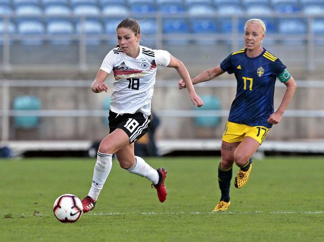 Germany v Sweden - Algarve Cup