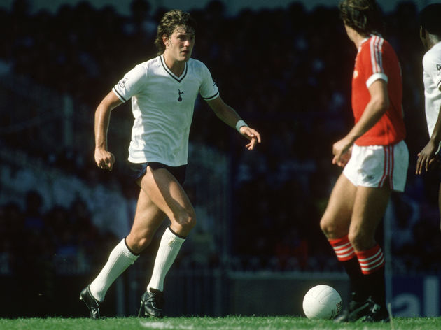 Glenn Hoddle of Tottenham Hotspur