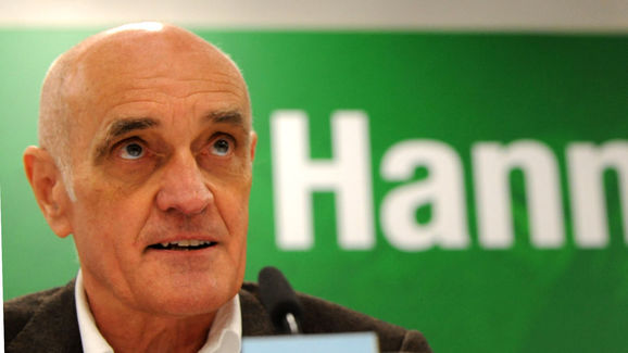 Hannover's president Martin Kind address