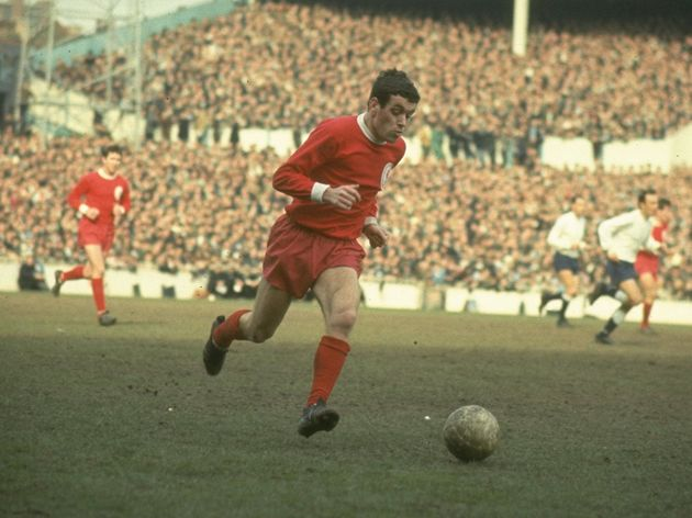 Ian Callaghan of Liverpool