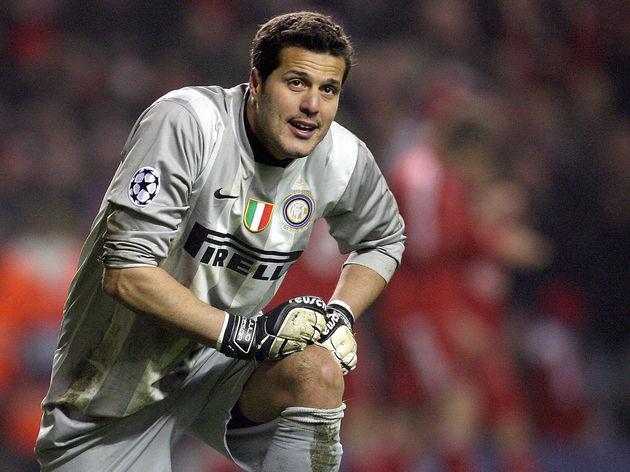 Inter Milan's Brazilian goalkeeper Julio